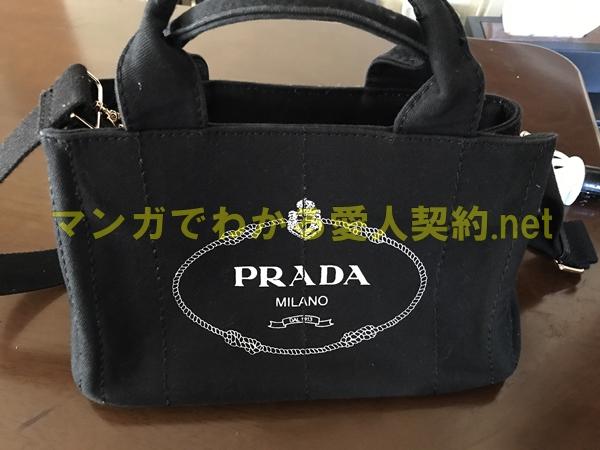 プラダのバッグ